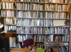 """At the Lesbian and Queer Archives, called """"Bildwechsel"""", in Hamburg"""